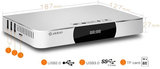 Zidoo X9 Android TV download firmware