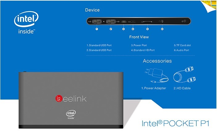 Beelink Pocket P1 specifications