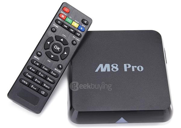 Download TV-PRO M8 Box firmware powered by Rockchip RK3368